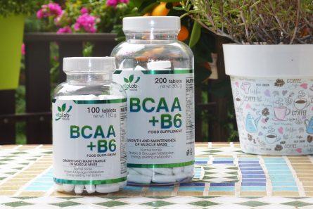 BCAA+B6 tablets - Vitalab-Natural