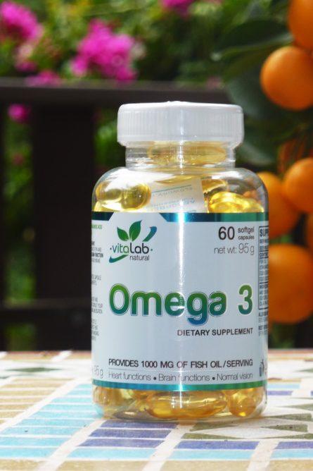 Omega 3 60 fish oil capsule - Vitalab-Natural