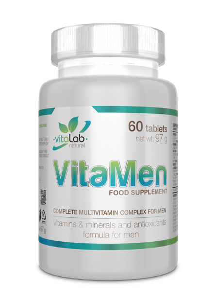 VitaMen mutlivitamin for men 60 tablets - Vitalab-Natural