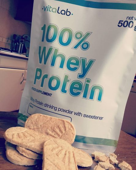 100% Whey protein cookies flavour - Vitalab-Natural