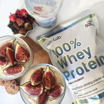 Whey protein mango shake - Vitalab-Natural