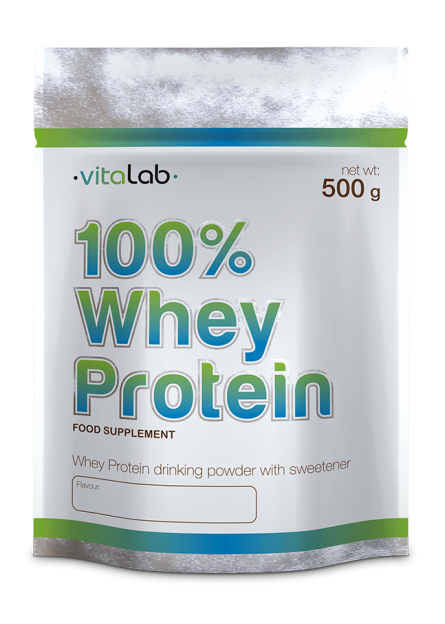 100% Whey protein - Vitalab-Natural