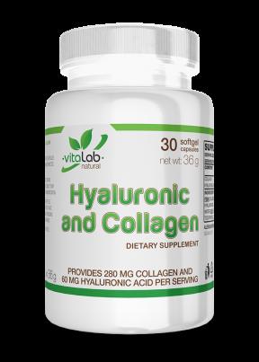 Hialuronsav és kollagén 30 kapszula - Vitalab-Natural