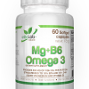 Mg B6 Omega3 60 softgel capsules - Vitalab-Natural