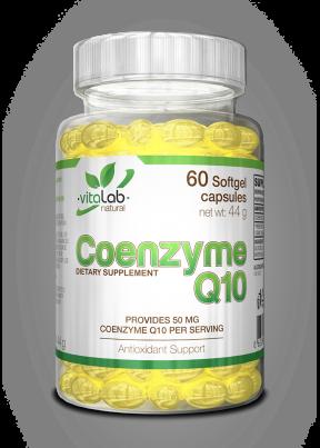 Koenzim Q10 60 kapszula - Vitalab-Natural
