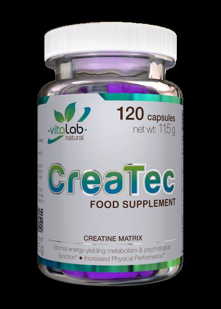 CreaTec kreatin komplex 120 kapszula - Vitalab-Natural