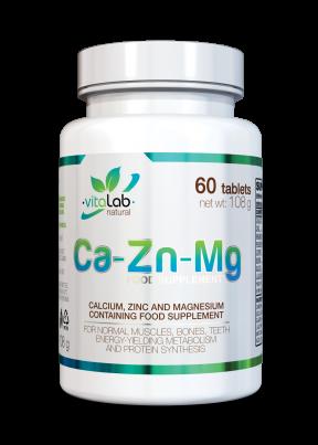 Ca-Zn-Mg - Vitalab-Natural